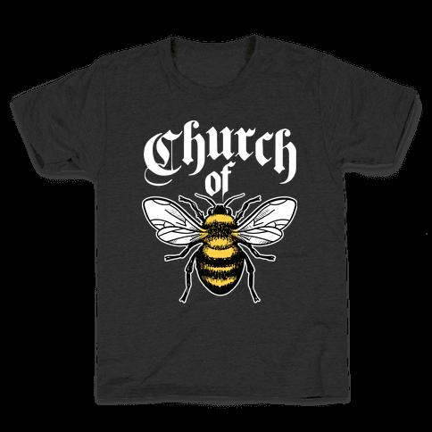 Church Of Bee Kids T-Shirt