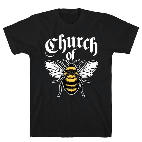 Church Of Bee Mens T-Shirt
