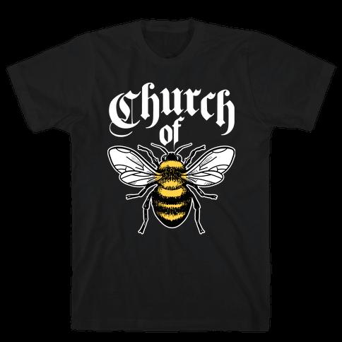 Church Of Bee Mens T-Shirt
