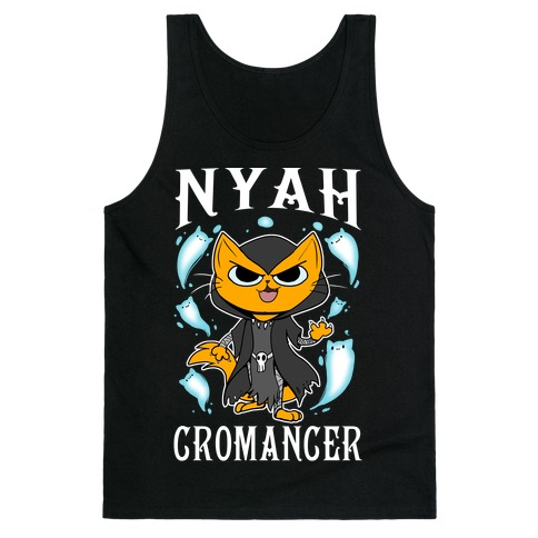 Nyahcromancer Tank Top