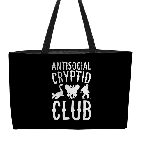 Antisocial Cryptid Club Weekender Tote