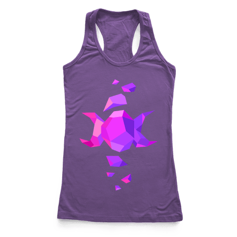 Crystal Triple Goddess Racerback Tank Top