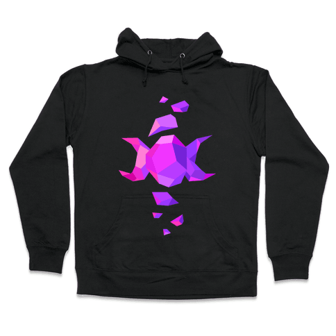 Crystal Triple Goddess Hooded Sweatshirt