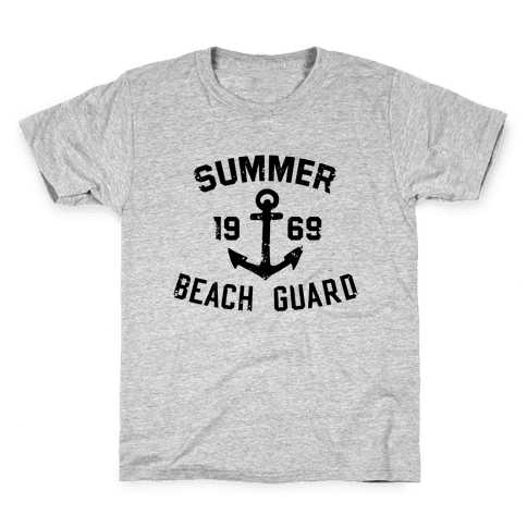 Summer Beach Guard Kids T-Shirt
