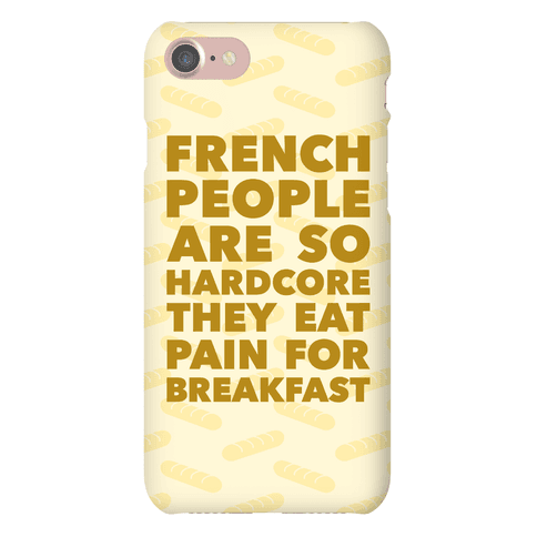 Pain For Breakfast Phone Case