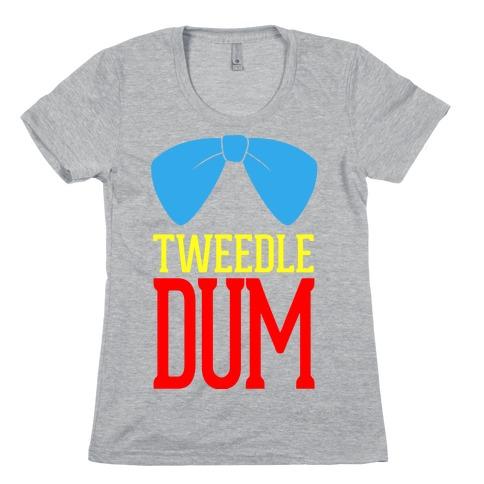 Tweedle Dum Womens T-Shirt