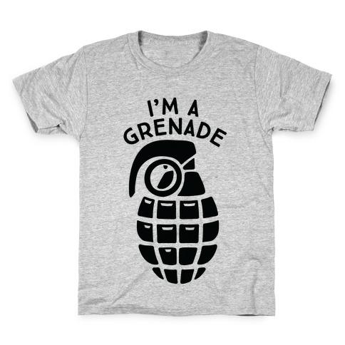 I'm A Grenade Kids T-Shirt