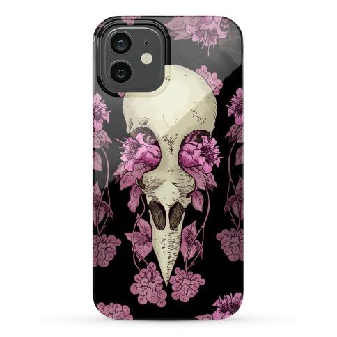 Bird Skull Phone Case