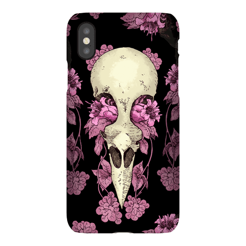 Bird Skull Phone Case