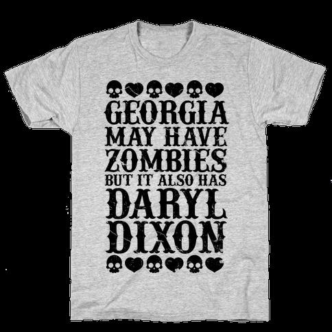Georgia Has Daryl Dixon Mens T-Shirt