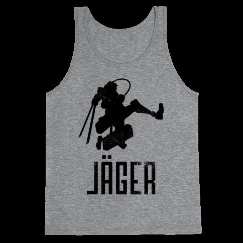 Eren Jaeger Silhouette (Vintage) Tank Top