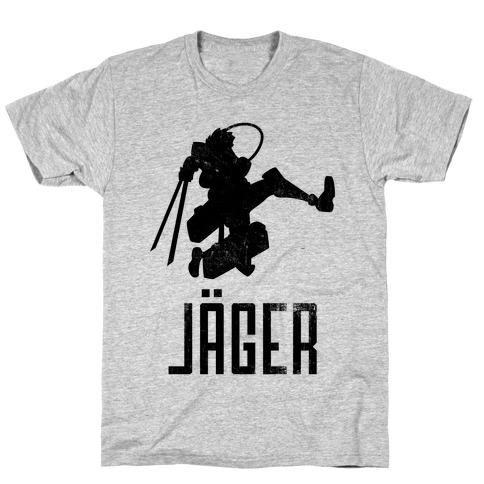 Eren Jaeger Silhouette (Vintage) T-Shirt