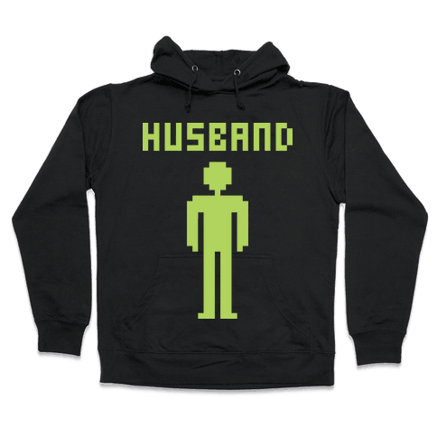 Nerd Husband Hooded Sweatshirt