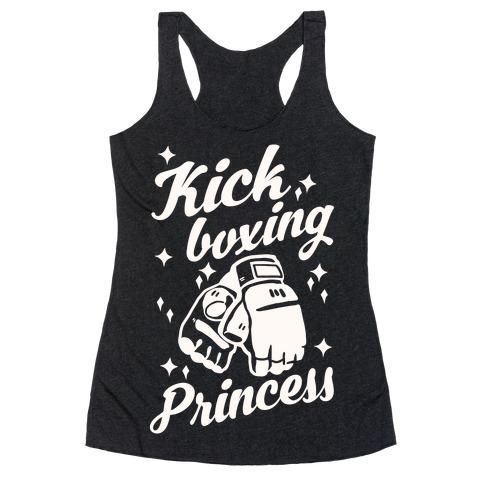 Kickboxing Princess Racerback Tank Top