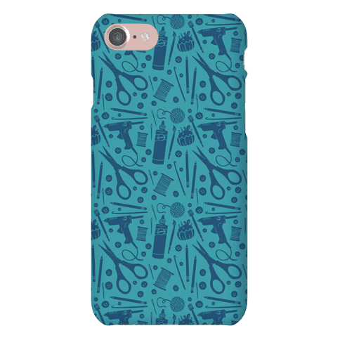Crafty Pattern Phone Case