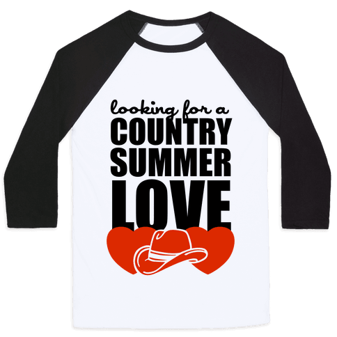 Country Summer Love (Tank) Baseball Tee
