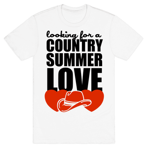 Country Summer Love (Tank) Mens T-Shirt