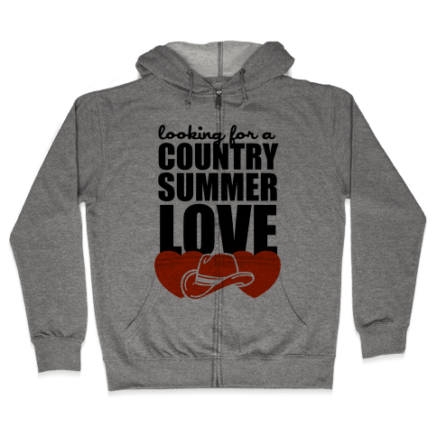 Country Summer Love (Tank) Zip Hoodie