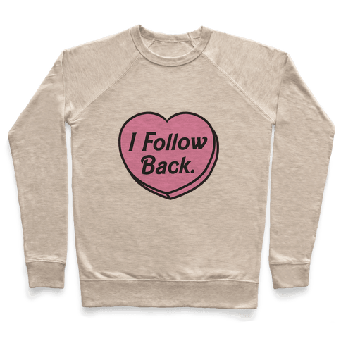 I Follow Back Pullover