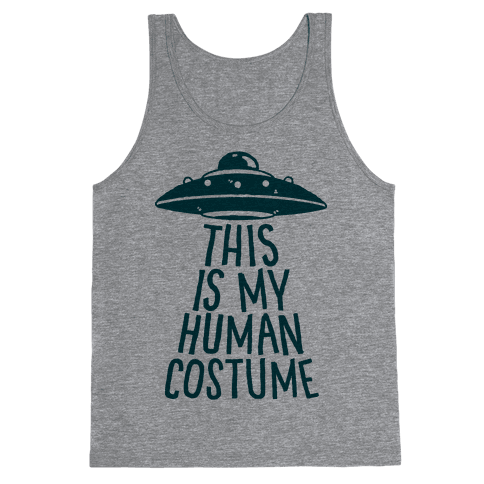 This is My Human Costume Tank Top