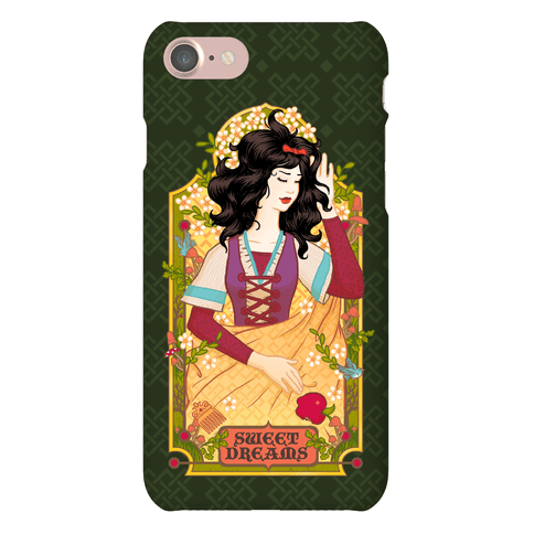 Sweet Dreams Snow White Phone Case