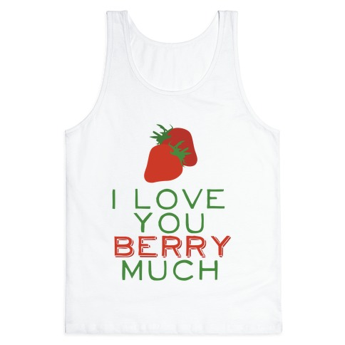 Berry Much Tank Top