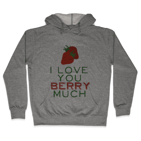 Berry Much Hooded Sweatshirt