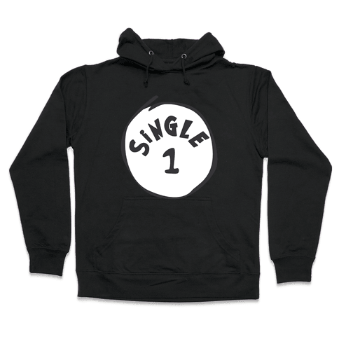 Single 1 Hooded Sweatshirt