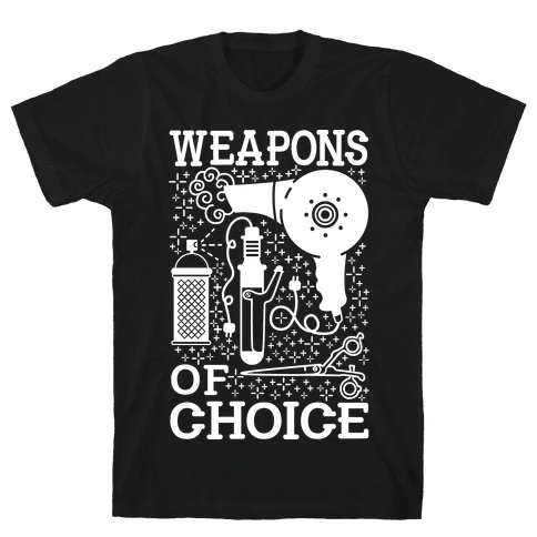 Weapons of Choice Mens T-Shirt