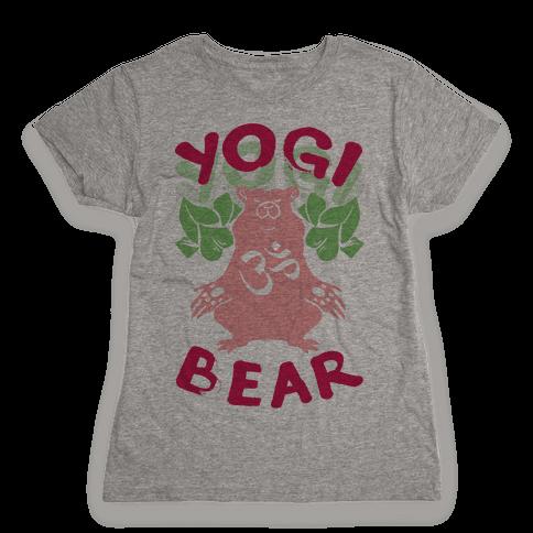 Yogi Bear Womens T-Shirt