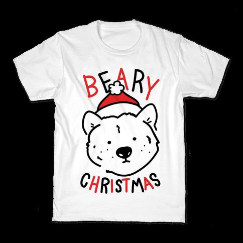 Beary Christmas Kids T-Shirt