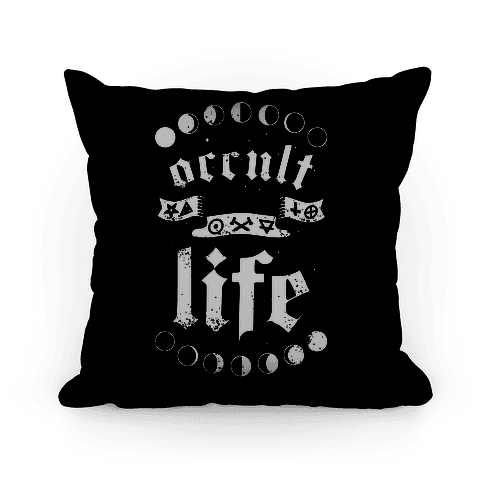Occult Life Pillow