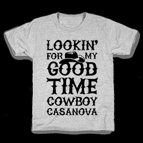 Cowboy Casanova Kids T-Shirt