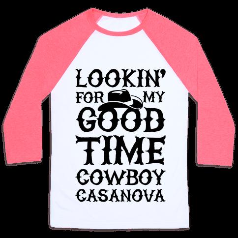 Cowboy Casanova Baseball Tee