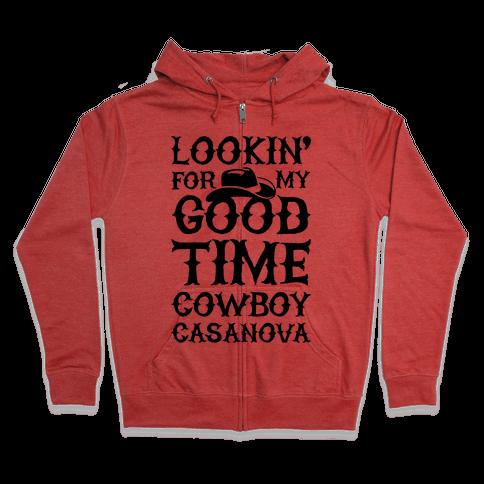Cowboy Casanova Zip Hoodie
