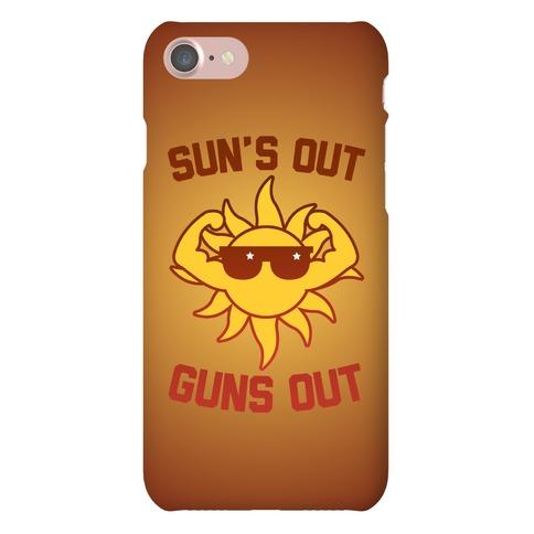 Sun's Out Guns Out Phone Case