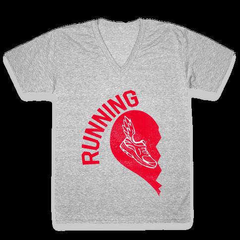 Running Partners (Pt.1) V-Neck Tee Shirt