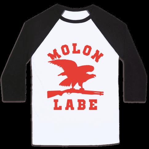 Molon Labe Eagle Baseball Tee