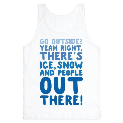 Winter Introvert Tank Top