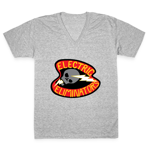 The Electric Eliminators V-Neck Tee Shirt