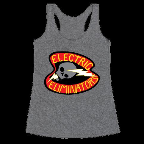 The Electric Eliminators Racerback Tank Top