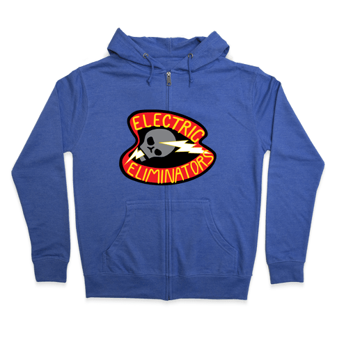 The Electric Eliminators Zip Hoodie