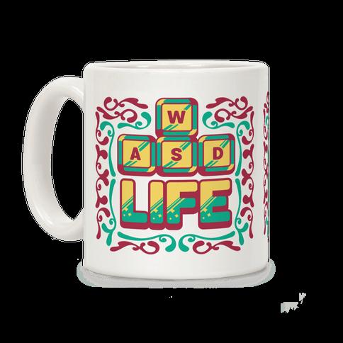 WASD Life Coffee Mug