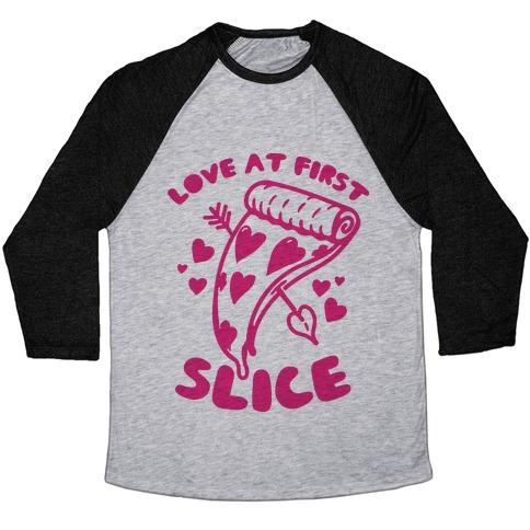 Love At First Slice Baseball Tee