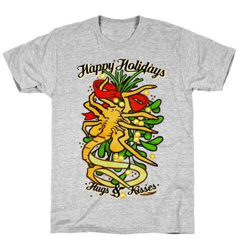 Happy Holidays Hugs and Kisses T-Shirt