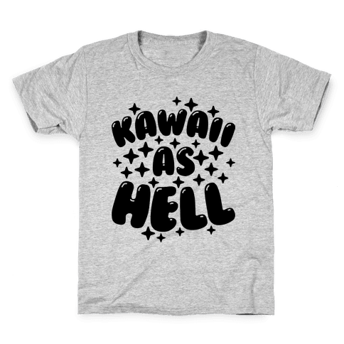 Kawaii As Hell Kids T-Shirt
