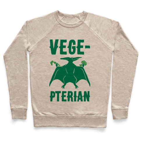 Vege-pterian Pullover