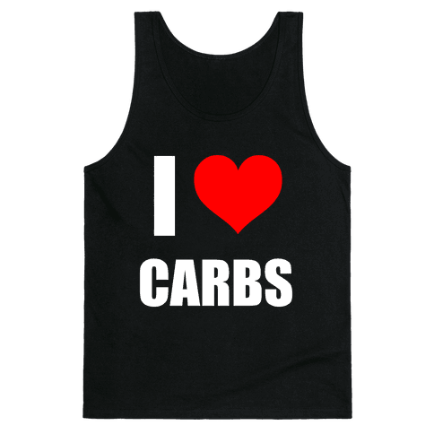 I Heart Carbs Tank Top