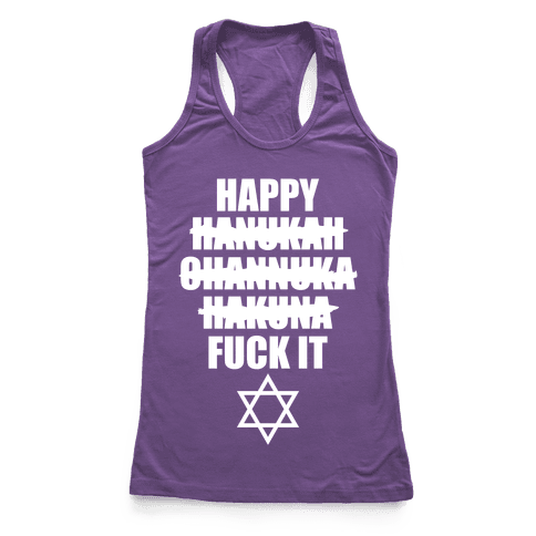 Happy Hakuna Racerback Tank Top