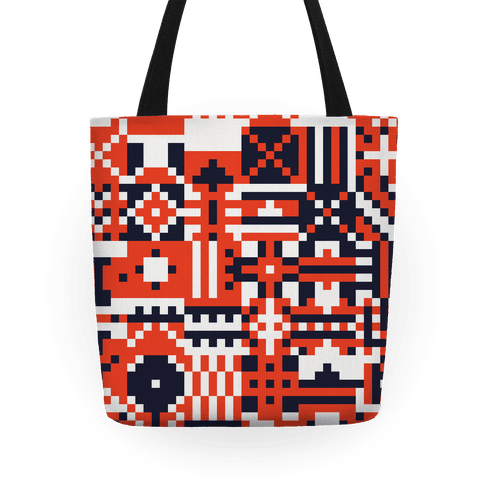 Square Pattern Tote